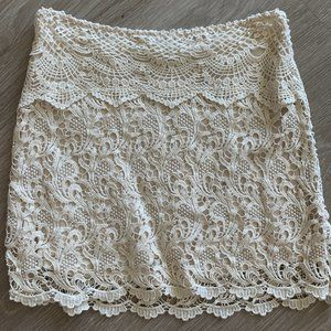 Lace Mini Skirt - Urban Outfitters